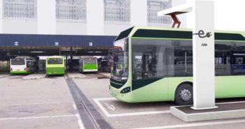 Volvo bus ABB foto