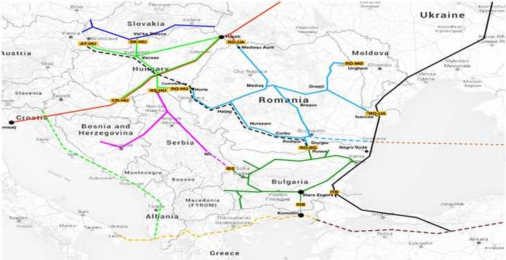Schimbarea traseului BRUA afectează exporturile de gaze din Marea Neagră