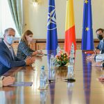 President of Romania officially talks about supporting the OMV Petrom - Romgaz partnership in the Neptun Deep project