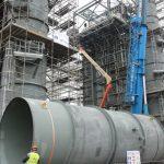 Romgaz: Lucrările la termocentrala de la Iernut sunt realizate în proporție mai mică de 90%